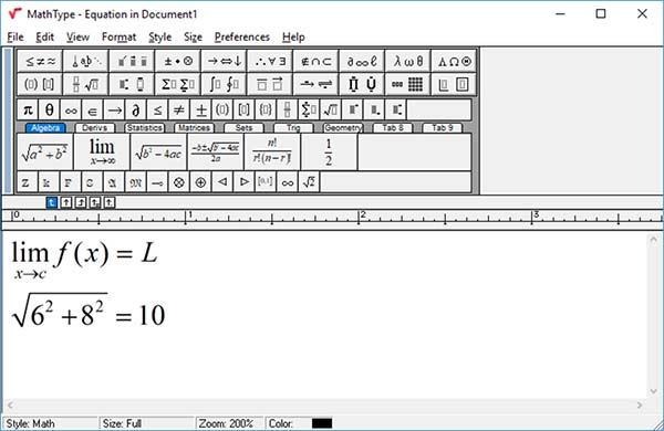 MathType 7.4.2